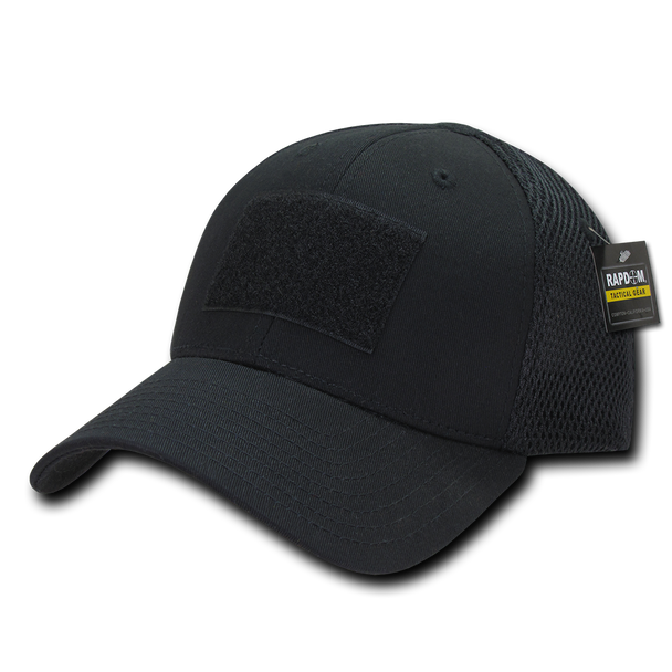 T81 - Tactical Cap - Air Mesh Flex - Black