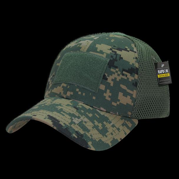 T81 - Tactical Cap - Air Mesh Flex - Digital Woodland Camo