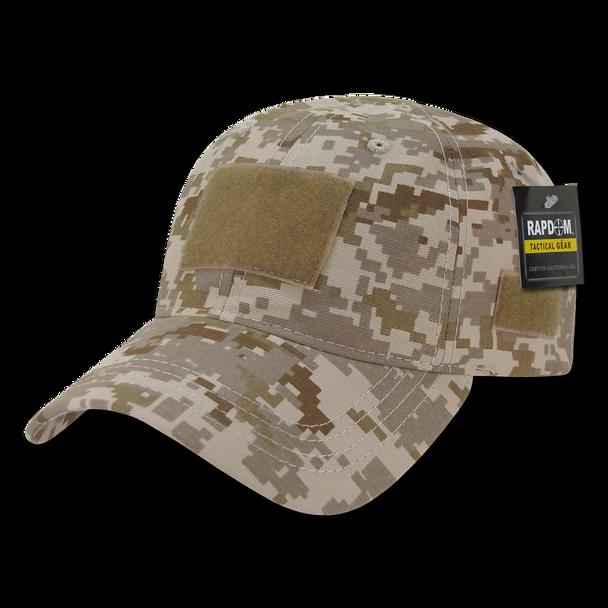 T79 - Tactical Cap - Relaxed Cotton - Desert Digital Camo