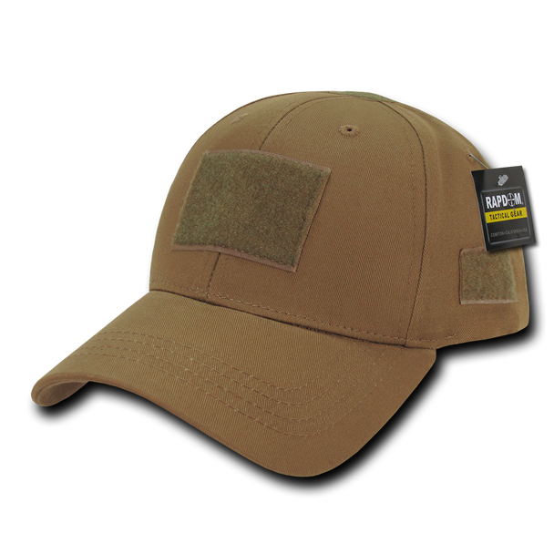 T78 - Tactical Cap - Low Crown Structured Cotton - Coyote
