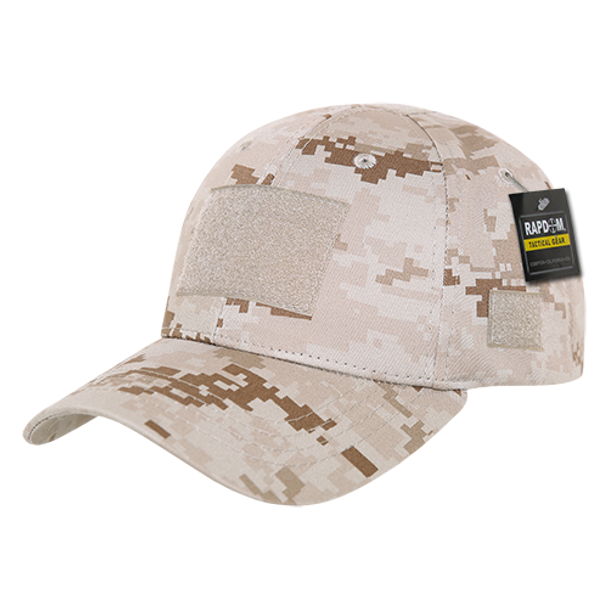 bd2ed657d0474 T78 - Tactical Cap - Low Crown Structured Cotton - Desert Digital  Camouflage - USMILITARYHATS.COM