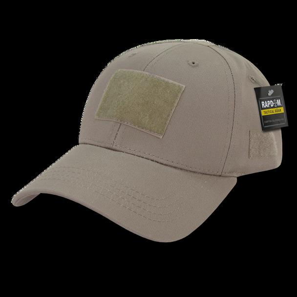 T78 - Tactical Cap - Low Crown Structured Cotton - Khaki