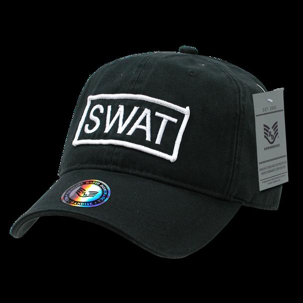 R91 - S.W.A.T. Patch Cap - Black