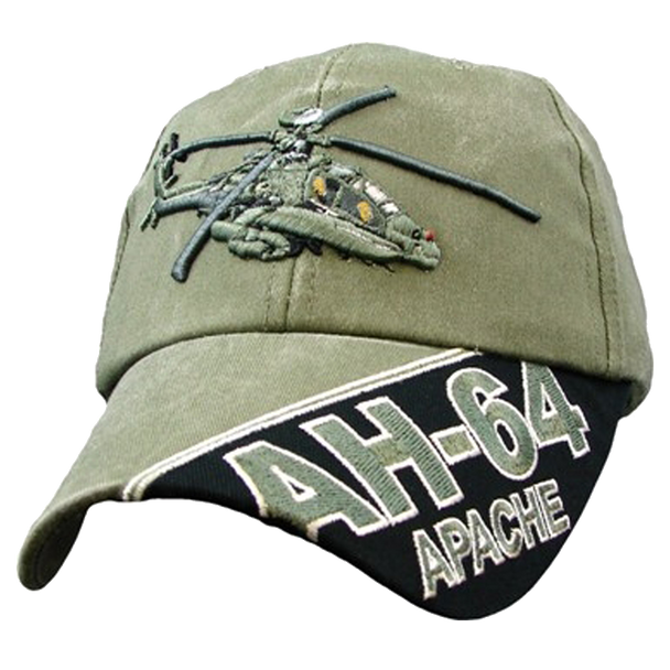 5959 - AH-64 Apache Cap - Cotton - OD Green