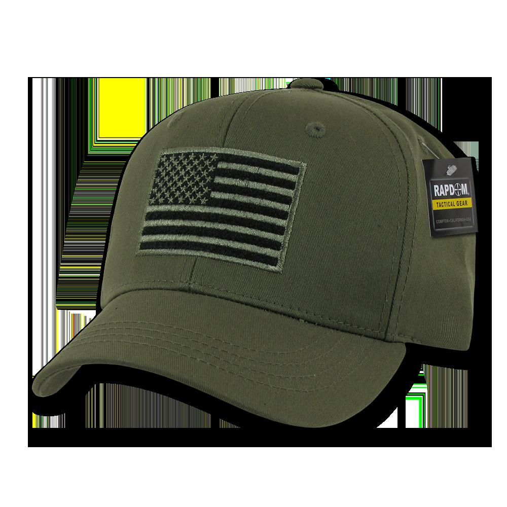 RETIRED NAVY GREEN HAT MILITARY CAP EAGLE /& FLAG