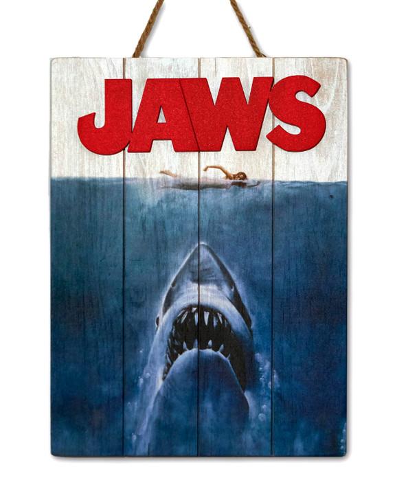 "JAWS- WOODART 3D ""1975 Art"""