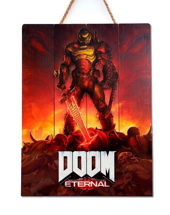"""DOOM - WOODART 3D """"Eternal"""" - Limited Edition"""