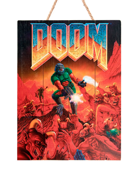 "DOOM - WOODART 3D ""Classic"" - Limited Edition"