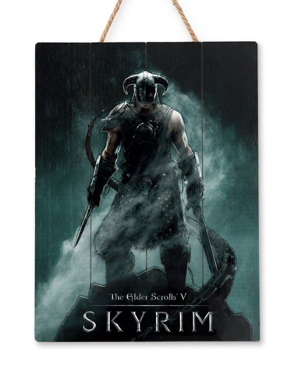 "SKYRIM - WOODART 3D ""Dragonborn"" - Limited Edition"