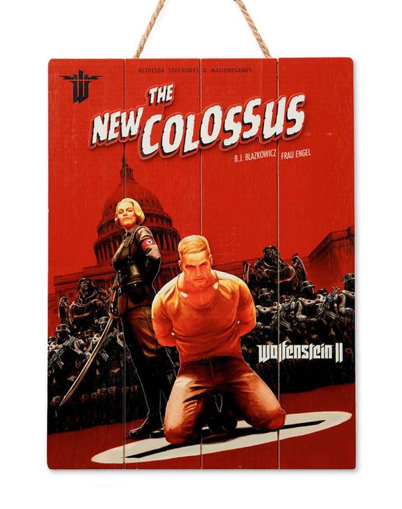"""WOLFENSTEIN - WOODART 3D """"Colossus"""" - Limited Edition"""