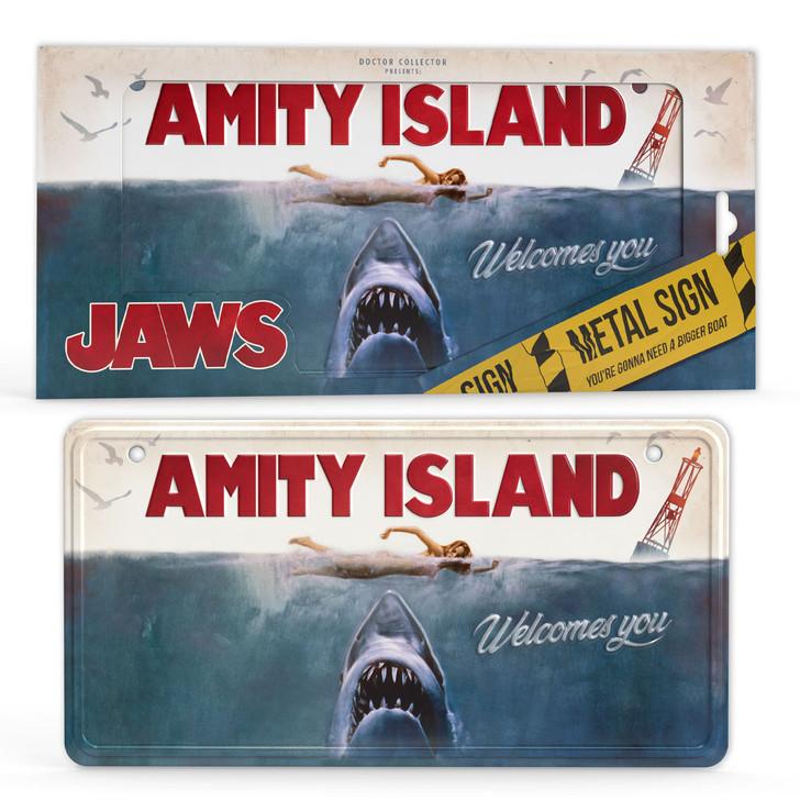 JAWS - Metal Sign