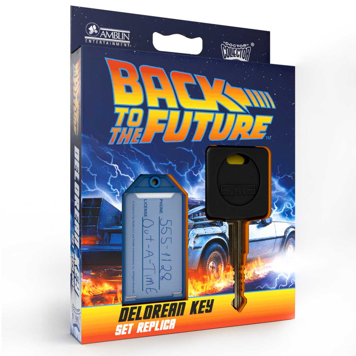 BACK TO THE FUTURE - Delorean Key Replica