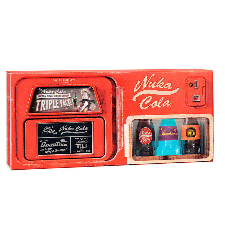 FALLOUT /  Nuka Cola Metal Sign Collection - Limited Edition