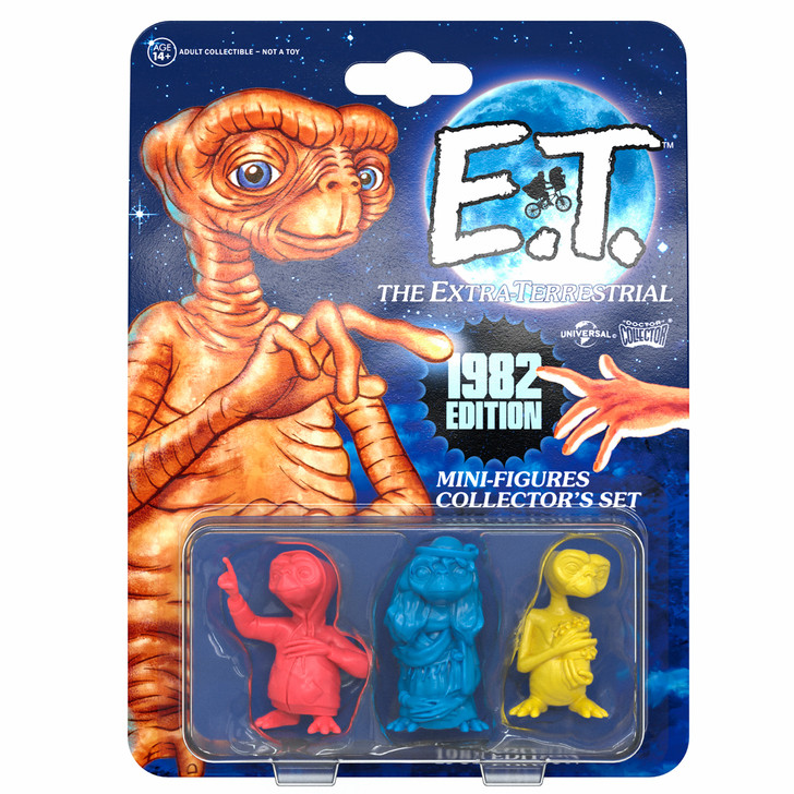 "E.T. - Set Mini Figures ""1982 Edition"""
