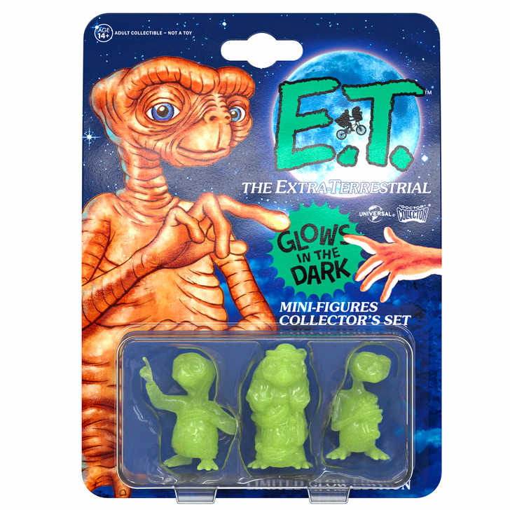 "E.T. - Set Mini Figures ""Glowing Edition"""