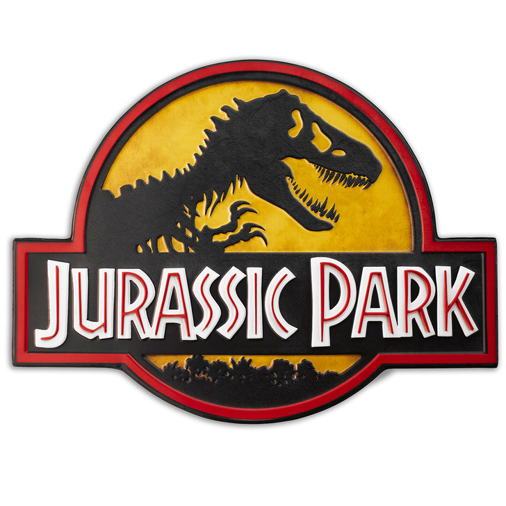 JURASSIC PARK  - Metal logo