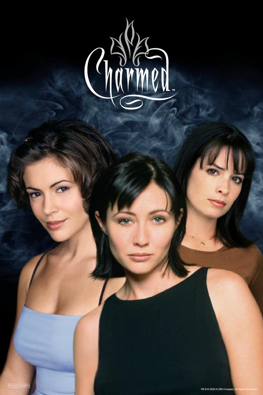 Charmed Season 1 Power of Three Halliwell Sisters TV Show Television  Original Series Witchcraft Merchandise Laminated Dry Erase Sign Poster  24x36 - Poster Foundry