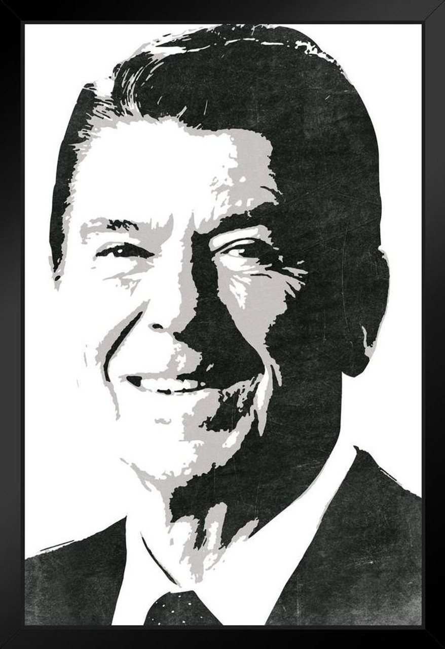 Top 100+ Ronald Reagan Black And White Photo