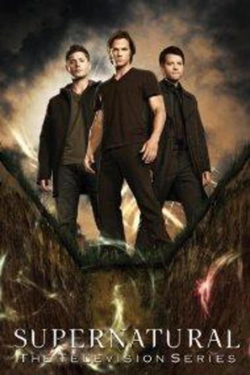 Supernatural Trio Television Series TV Show Cool Wall Decor
