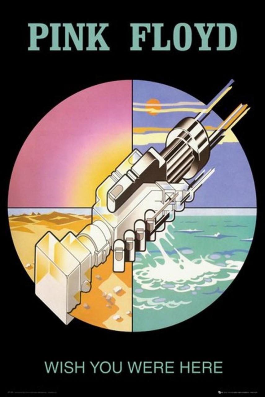 Pink Floyd Wish You Were Here Robot Handshake Rock Music Album Poster 24x36  Inch
