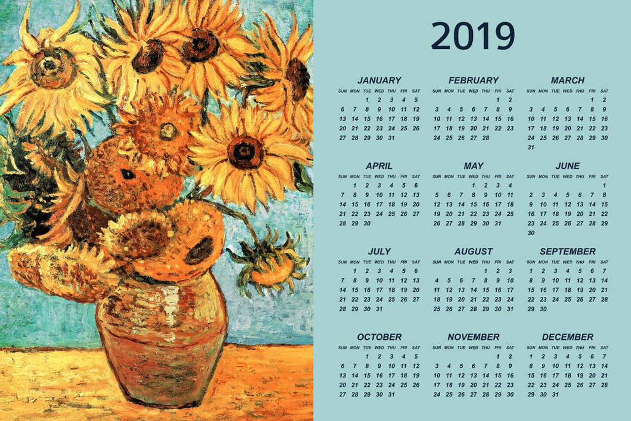 Vincent Van Gogh Giant Poster Art Picture Print