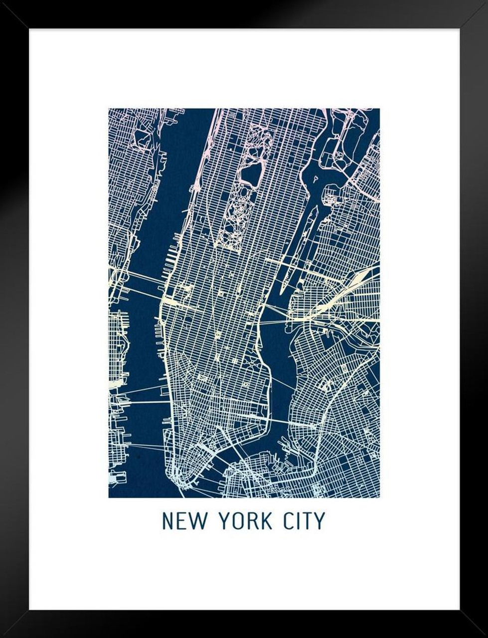 New York City Colorful Minimalist Art Map Art Matted Framed Wall Art Map Art Prints on map flags, map design, antique maps and prints, map clothing, map of california, map accessories, map home decor, map wedding, map medieval prints, map craft prints,