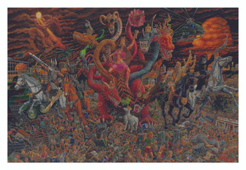 Echoes from The Darkside of The Moon Tom Masse Poster 32 x 22in