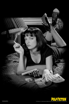 27x40 24x36 Poster Pulp Fiction Uma Thurman Movie C-4293