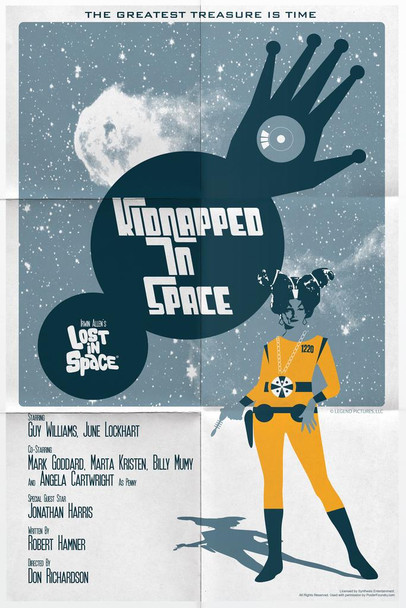 Lost In Space Kidnapped In Space by Juan Ortiz Episode 62 of 83 Art Print Laminated Dry Erase Sign Poster 24x36
