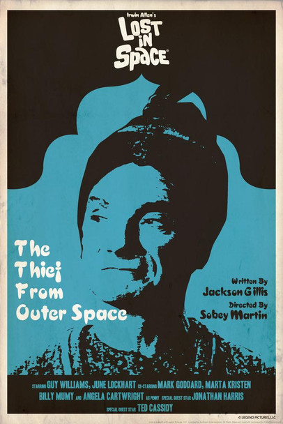 Lost In Space The Thief From Outer Space by Juan Ortiz Episode 38 of 83 Cool Wall Decor Art Print Laminated Dry Erase Sign Poster 24x36