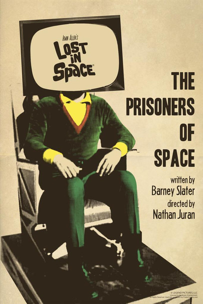 Lost In Space The Prisoners of Space by Juan Ortiz Episode 35 of 83 Art Print Laminated Dry Erase Sign Poster 24x36