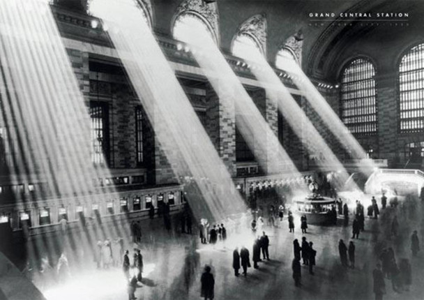 Grand Central Station Photography Cool Wall Decor Art Print Poster 36x24
