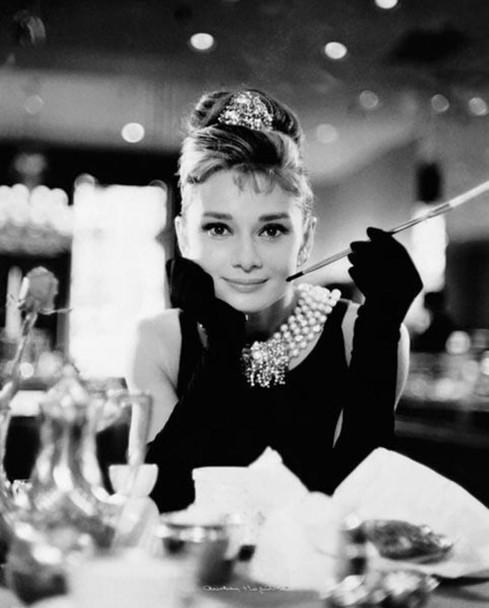 Audrey Hepburn Breakfast at Tiffanys Movie Cool Wall Decor Art Print Poster 20x16