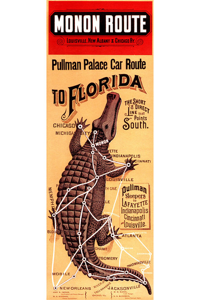 Pullman To Florida Travel Guide Alligator Wall Decor Reptile Print Poster Reptile Scales Biology WIldlife Nature Art Print Alligator Poster Swamp Animal Wall Art Cool Wall Decor Art Print Poster 12x18