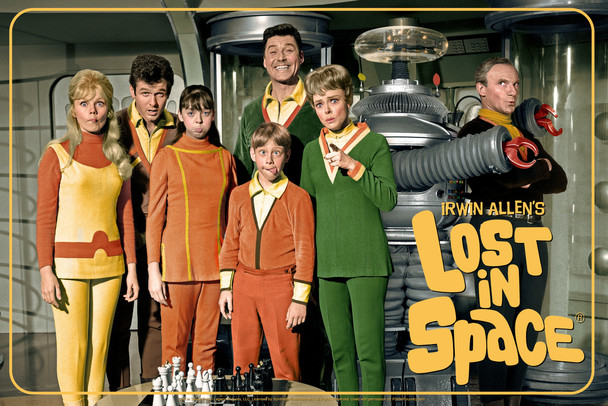 Lost In Space Cast Funny Faces TV Show Cool Wall Decor Art Print Poster 12x18