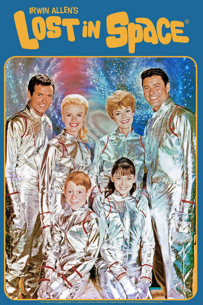 Lost In Space Cast In Spacesuits TV Show Cool Wall Decor Art Print Poster 12x18