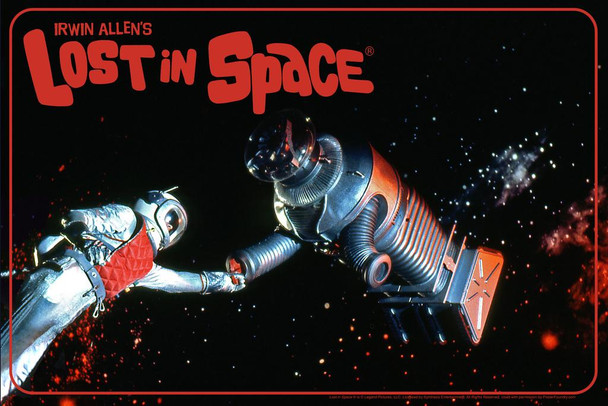 Lost In Space Robot In Space TV Show Cool Huge Large Giant Poster Art 36x54