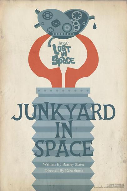 Lost In Space Junkyard In Space by Juan Ortiz Episode 83 of 83 Art Print Cool Huge Large Giant Poster Art 36x54