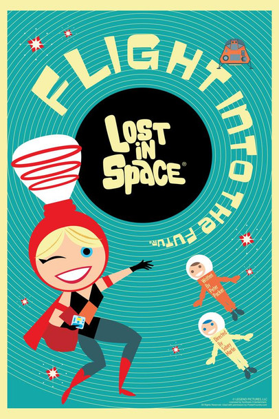 Lost In Space Flight Into The Future by Juan Ortiz Episode 67 of 83 Art Print Cool Huge Large Giant Poster Art 36x54