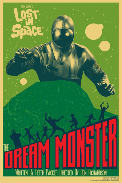 Lost In Space The Dream Monster by Juan Ortiz Episode 43 of 83 Art Print Cool Huge Large Giant Poster Art 36x54