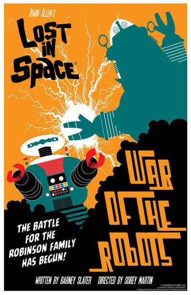 Lost In Space War Of The Robots by Juan Ortiz Episode 20 of 83 Cool Wall Decor Art Print Poster 24x36