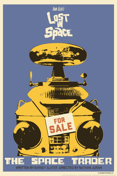 Lost In Space The Space Trader by Juan Ortiz Episode 23 of 83 Art Print Cool Huge Large Giant Poster Art 36x54