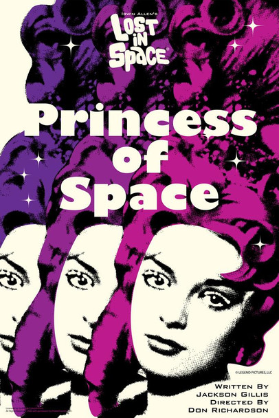 Lost In Space Princess of Earth by Juan Ortiz Episode 76 of 83 Art Print Cool Huge Large Giant Poster Art 36x54