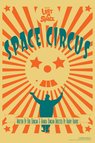 Lost In Space Space Circus by Juan Ortiz Episode 34 of 83 Art Print Cool Huge Large Giant Poster Art 36x54