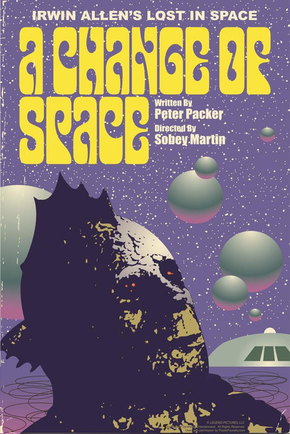 Lost In Space A Change of Space by Juan Ortiz Episode 28 of 83 Art Print Cool Huge Large Giant Poster Art 36x54
