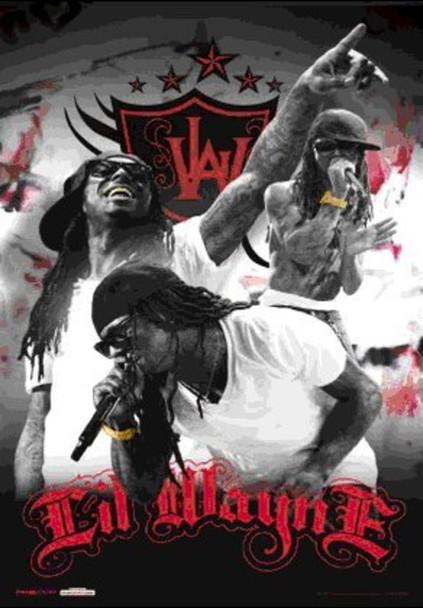 Lil Wayne Rapper Rap Hip Hop Music Artist Performing Lenticular 3D Poster 11x17