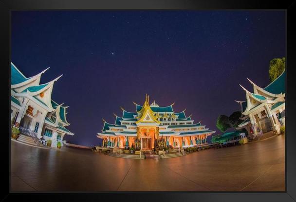 Wat Pa Phu Kon Temple Udon Thani Thailand Photo Art Print Framed Poster 20x14 inch