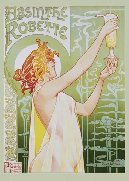 Henri Privat Livemont Absinthe Robette Art Print Poster 24x36