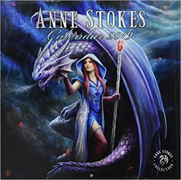Anne Stokes Fantasy Art 2019 Calendar 12x12 inch
