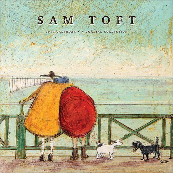 Sam Toft Art 2019 Calendar 12x12 inch